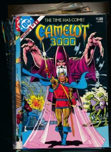 Complete Series!! DC CAMELOT 3000 Maxi-Series #1-12 VERY FINE (PF59)