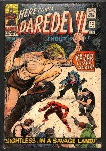 Daredevil #12 GD 2.0 Marvel Comics