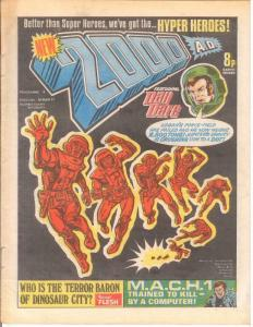 2000 AD 4 VG-F March 19 1977