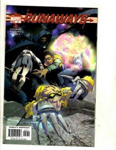Lot Of 7 Runaways Marvel Comic Books # 12 13 14 15 16 17 18 Vaughan Series CJ14