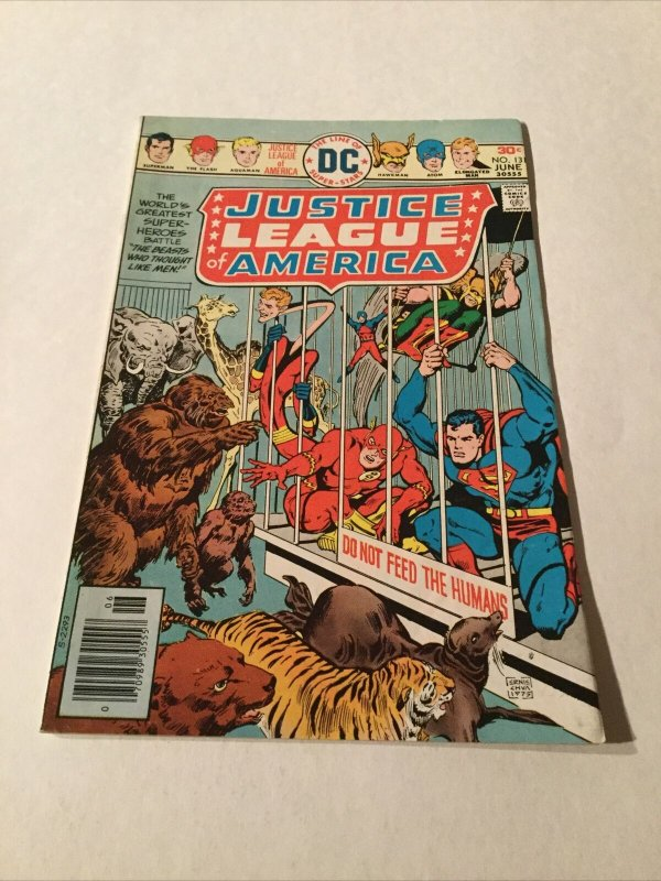 Justice League Of America Nm Near Mint Newsstand Edition DC Comics