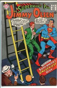 SUPERMAN'S PAL JIMMY OLSEN  #106 1967-DC-BAD LUCK-vf+