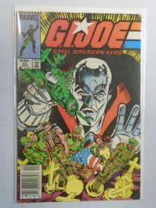 GI Joe #22 News Stand edition 4.0 VG (1984)