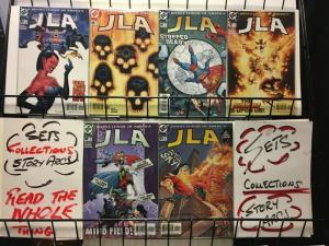 JLA (1997) 84-89 Trial By Fire  Martian Manhunter