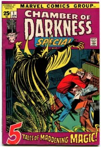 Chamber of Darkness Special #1 (7.0) 1972 Bronze Age Marvel Horror! ID99L
