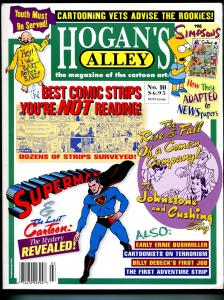 Hogan's Alley #10 2002-Superman-Simpsons-Billy Debeck-best small strips-VF