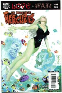 INCREDIBLE HERCULES #122, NM-, Variant, vs Sub-Mariner,Marvel Zombie,Suydam,2008