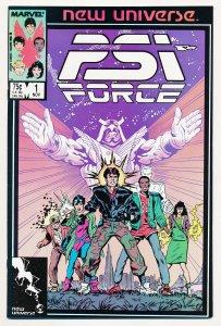 PSI Force (1986) #1 NM