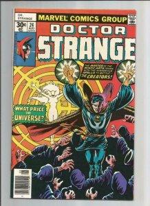 DR STRANGE #24, VF/NM, Jim Starlin, Al Milgrom, 1974 1977, Doctor, more in store
