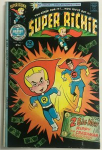 SUPER RICHIE#1 FN/VF 1975 HARVEY BRONZE AGE COMICS