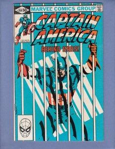 Captain America #260 VG/FN Marvel 1981
