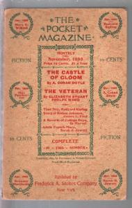 Pocket Magazine #1 11/1895-1st issue-120+ years old-A. Conan Doyle-VF-
