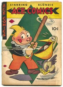 Ace Comics #98 1945- Phantom- Jungle Jim G-