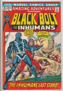 Amazing Adventures #10 (Apr-71) VF+ High-Grade Inhumans