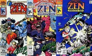 ZEN INTERGALACTIC NINJA  1-3  Defend The Earth