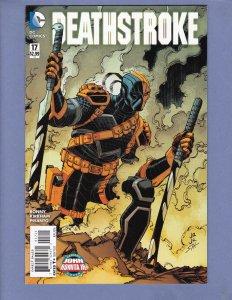 Deathstroke #17 FN/VF John Romita Jr Variant Cover DC 2016