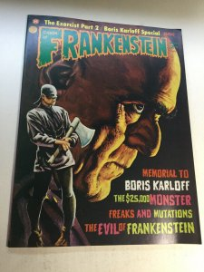Castle Of Frankenstein 24 Nm Near Mint Magazine