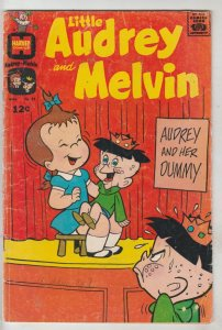 Little Audrey and Melvin #38 (Mar-68) VG Affordable-Grade Little Audrey