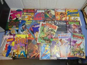 24 Classic Americana Comic Books AC Comics Dark Horse Kitchen Sink Harvey MINT
