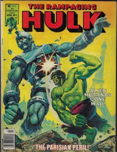 Rampaging Hulk #2 (Marvel, 1977) FN