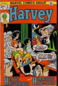 HARVEY COMICS #6 FINAL ISSUE HORROR COVER MARVEL 1972 VG/FN
