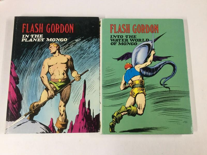 Flash Gordon In The Into Water World Planet Of Mongo Pair Noatalgia Press Hc B17