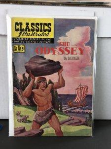 Classics Illustrated #81 (1951) The Odyssey 1st Print HRN 82
