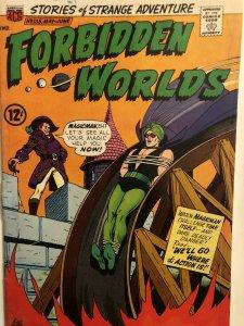 Forbidden Worlds#135,VG, Art by Constanza. The saga of Magicman&Herbie!