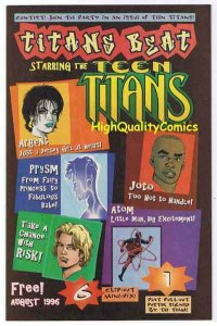TITANS BEAT #1 Preview, ashcan, 1996, Atom, Teen, NM+, more promos in store