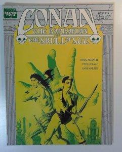 Marvel Graphic Novel Conan the Skull of Set 1989 NM TPB  first printing comic