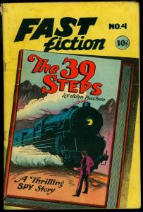 Fact Fiction #4 1950- The 39 Steps- John Buchan VG