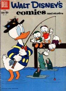 Walt Disney's Comics and Stories #237, Good- (Stock photo)