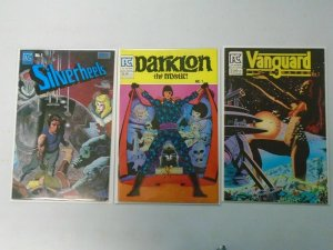 3 different Pacific Comics #1 issues 8.0 VF