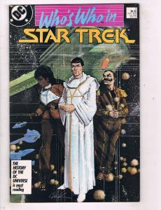Whos Who In Star Trek #2 VF DC Comics Copper Age Comic Book Apr 1987 DE48