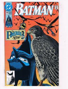 """Batman #449 DC Comic Book """"The Penguin Affair"""" Part 3 HH1"""