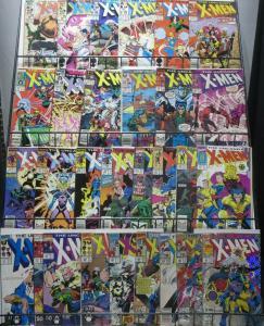 UNCANNY X-MEN 80s-90s SAMPLER! 29 BOOKS! VG/+ Jim Lee, John Romita Junior, BWS
