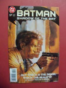 BATMAN SHADOW OF THE BAT #63  Near Mint 9.4 Or Better DC COMICS