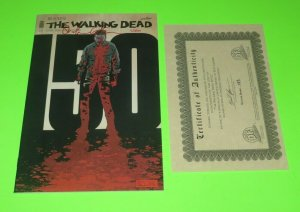 The Walking Dead #150 NM+ High Grade Kirkman Signed/Red By Gaudiano 423/800 WCOA