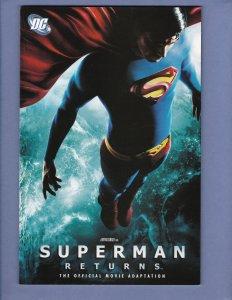 Superman Returns Official Movie Adaptation TPB Graphic Novel DC 2006
