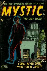 Mystic Comics #31 1954- Werewolf story- Atlas Horror Golden Age VG+