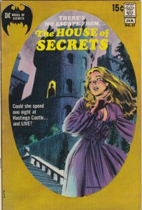 the house of secrets 89 VF+ Gray Morrow Cover (Jan. 1971)