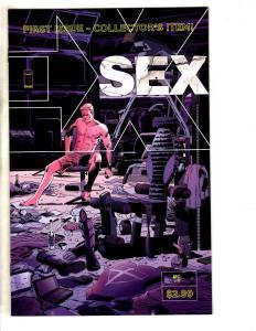 Sex # 1 NM 1st Print Image Comic Book Joe Casey & Piotr Kowalski MK5