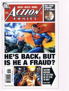 Action Comics # 841 DC Comic Books Hi-Res Scans Modern Age Awesome Issue!!!!! S6