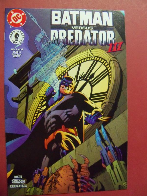 BATMAN VERSUS PREDATOR, PART 2 OF 4  (VF/NM 9.0 or Better) DC Comics