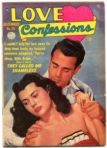 Love Confessions #20 1952- Golden Age Romance-Shameless FN-