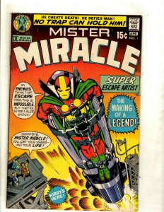 Mister Miracle # 1 VF DC Comic Book Jack Kirby Fourth World Escape Artist RS1