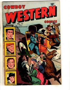 Cowboy Western Comics # 17 FN Charlton Comic Book Magazine Jesse James Bill JL17