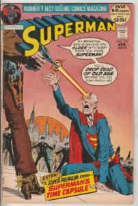 Superman #250 (Apr-72) FN/VF Mid-High-Grade Superman