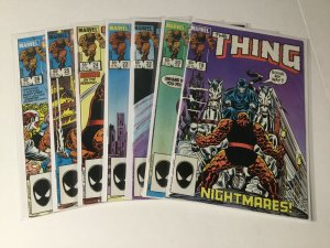 The Thing 19 20 22-27 29-34 Lot Vf-Nm Very Fine-Near Mint Marvel