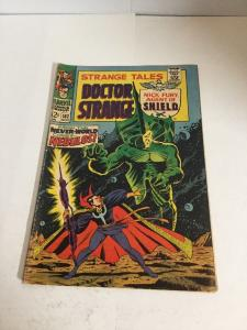 Strange Tales 162 Gd/Vg Good/Very Good 3.0 Silver Age
